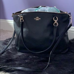 Coach soft leather slouchy shoulder bag